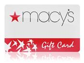 MACYS Gift Cards GIFT CARD